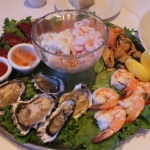 Seafood Sampler is a good start to experience the menu at McCormick & Culeto