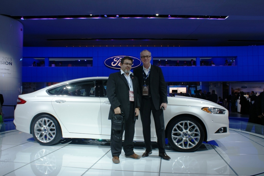 With Ford global design chief