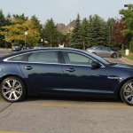 Jaguar XJ-L has a sleek and impressive style underlining its sportive character