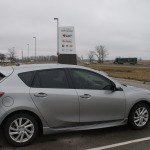Mazda 3 Sport, as the hatchback is called in Canada, has a fresh and highly organic design