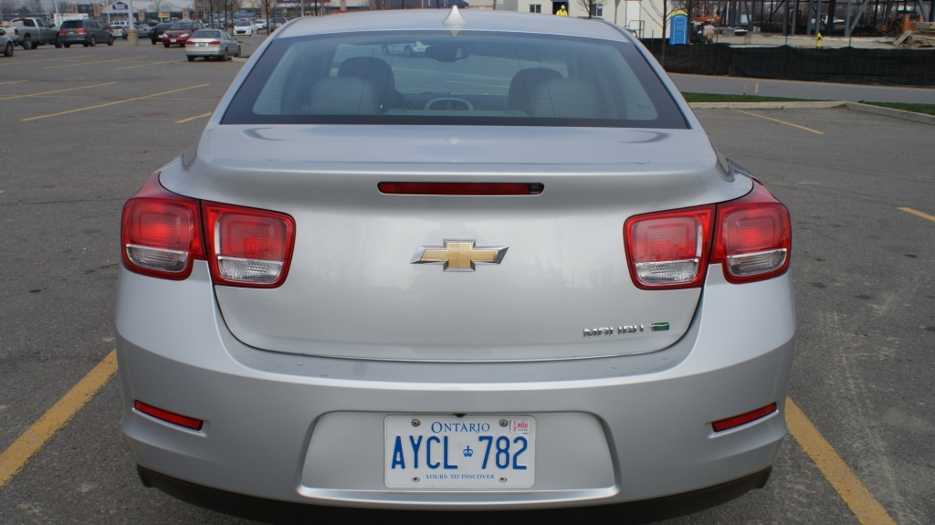The comprehensive facelift of the Malibu offers Camaro-inspired taillights