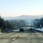 On our way back home through the Appalachian Mountains in West Virginia
