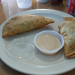 Empanada in La Camaronera is a great taste to remember