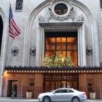 The Beaux-Arts style Helmsley Building from 1929 is a desigYork landmark since 1987