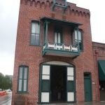 The Plaza Firehouse built in 1884 was the first fire station of the city