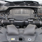 The magnificient heart of Jaguar XJ-L. the 5-liter V8 engine