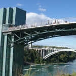 Observation deck on the American side brings you closer to Canadian side and the bigger horseshoe fall