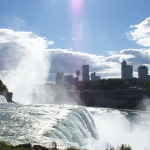 Watching the horseshoe falls from the American side is another option to see the Niagara