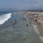 The beaches in Los Angeles