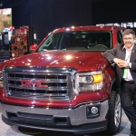The latest GMC Sierra. Americans always maintained their dominance in the full-size truck category
