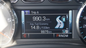 Do not expect single-digit consumption values from a three-tonne SUV.