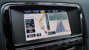 The navigation is not the fastest one you can have at a large, luxury car with a six-digit price tag. However, it works very precisely.