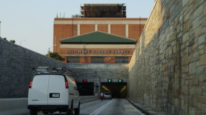 Driving from Washington DC to New York City via Baltimore Harbor Tunnel