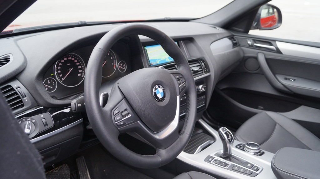 The driver-oriented, highly ergonomic cockpit is a BMW feature for generations.