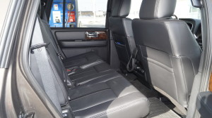 Rear seats offer comfortable space for three.