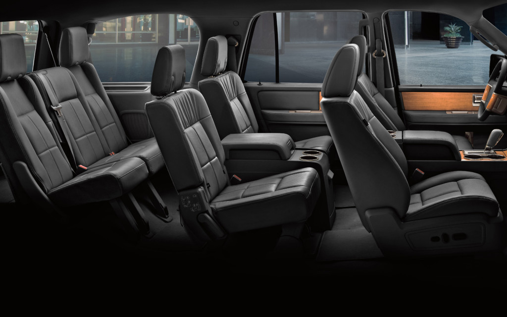 Comfortable seating for 7 or 8 people.