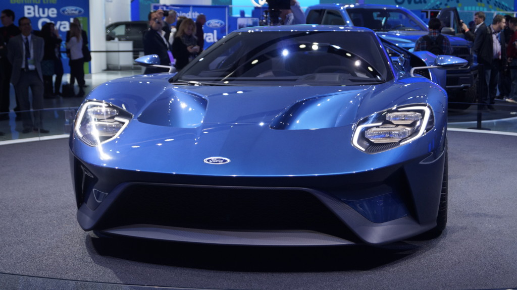NAIAS 2015. Ford GT