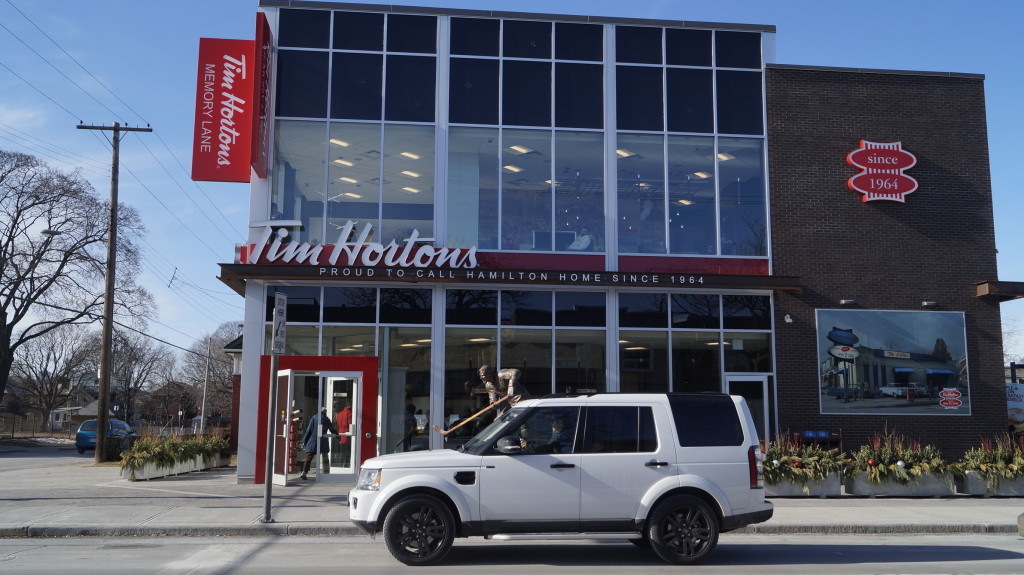The first Tim Hortons store was opened in Hamilton, ON more than 50 years ago.
