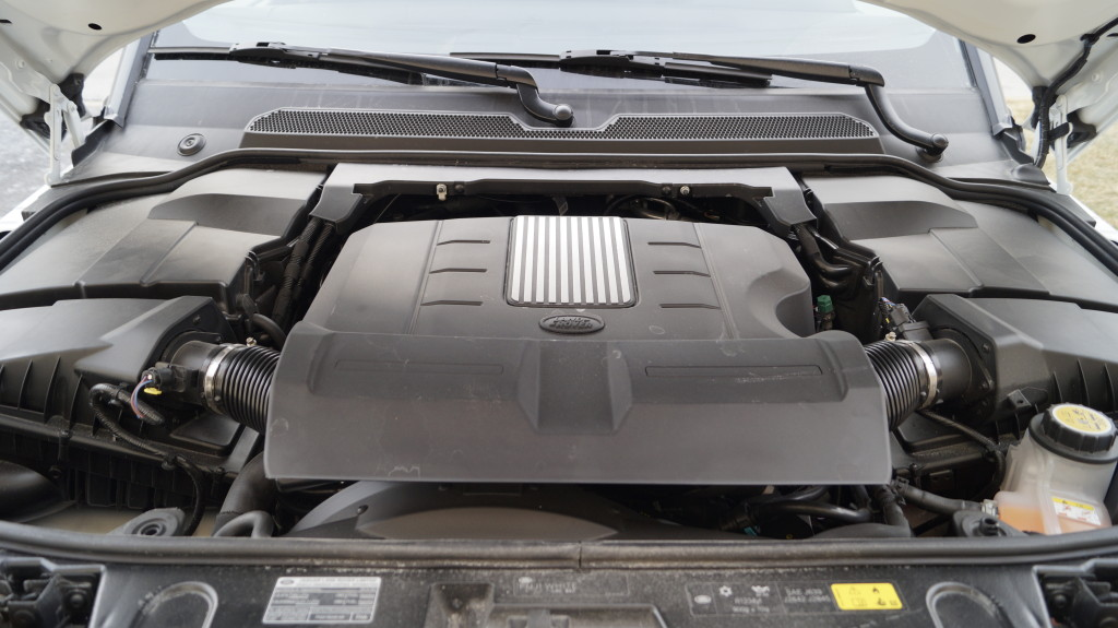 The 3L, V6 supercharged engine with 340 HP is used across the JLR model range.