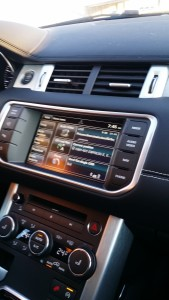 The centre console and the small screen is coming to ages.