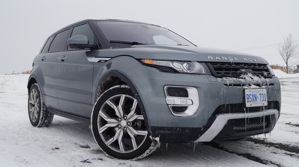 In my humble opinion, the Evoque is probably the most beautiful Range Rover ever.