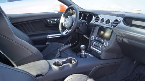 The interior and dashboard is not as good as a European sports car. But, without any doubt, it is a retro-design.